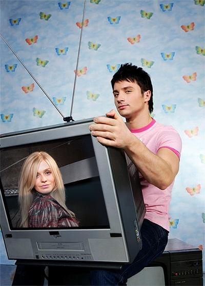 В телевизоре вставить фото онлайн