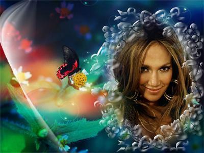 Романтическое оформление фото онлайн: effectfree.ru/photoeffects/4238.html