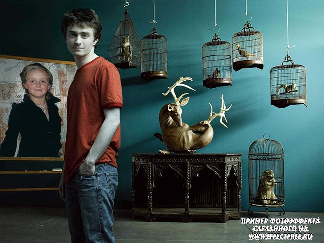 Фотоэффект с Дэниэлом Рэдклиффом, Гарри Потером сделать онлайн