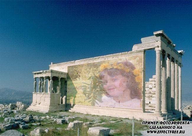 """Фото сделать онлайн на """"Древних развалинах"""" онлайн"""