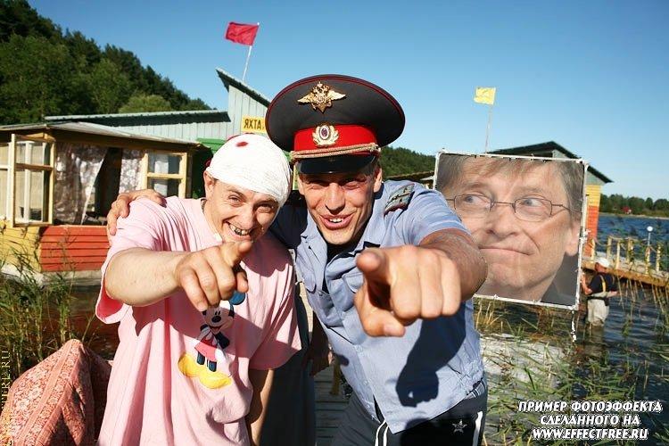 Фото коллаж из фильма Каникулы строгого режима