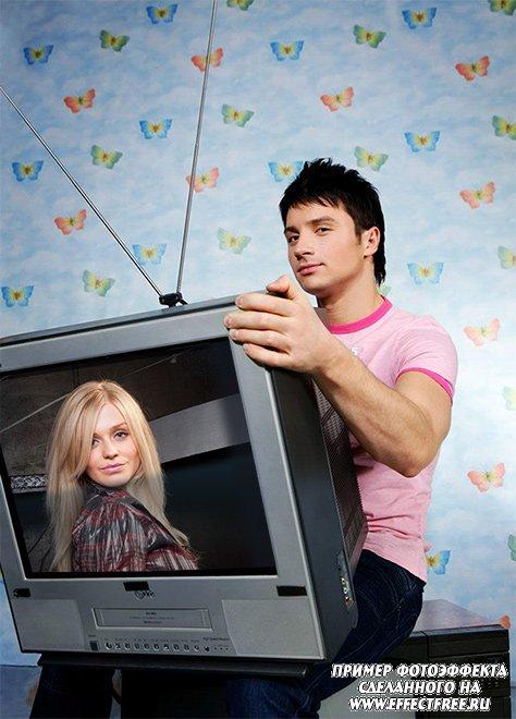 Фотоэффект в телевизоре с Сергеем Лазаревым сделать онлайн