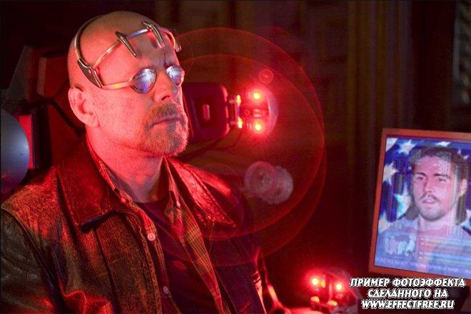 Оказаться в кадре фильма Суррогаты с Брюсом Уиллисом, сделать фотоэффект онлайн