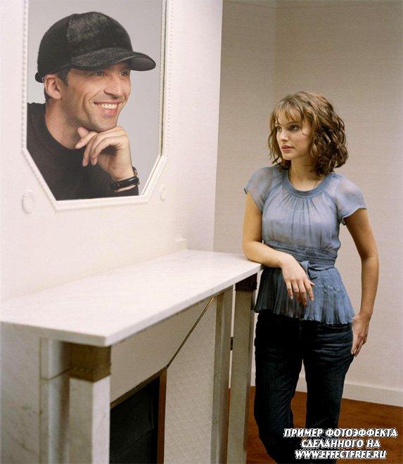 Оказаться рядом с Натали Портман, сделать фотоэффект онлайн