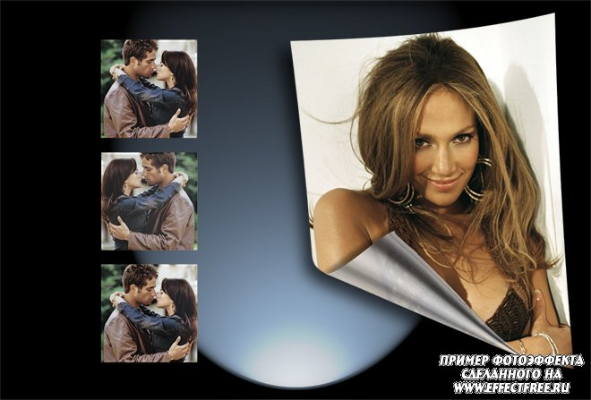 Фотошоп редактирование фото онлайн для рамки на 4 фотографии, сделать онлайн